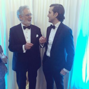 Placido Domingo at the MOLAA Gala